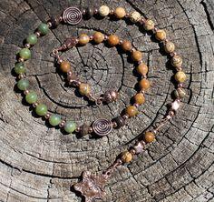 Spirit of Trees Pagan Prayer Beads