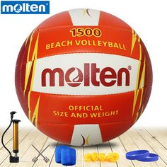 check discount original molten volleyball v5b1500 new brand high quality genuine molten pu material #molten #volleyball