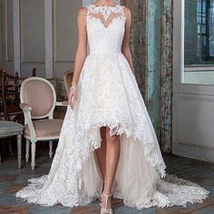 Raving about this unique high-low style of @ja_bridal today! Gorgeous with a little bit of peek-a-boo leg! #JustinAlexander #JABridal #highlow #hilo #highlowdress #bridalgown #weddingdress #peekabook #unique #bridalfashion #bridalstyle #somethingdifferent