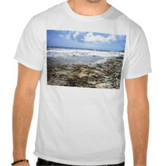 Aruba Rocky Ocean T-shirt    •   This design is available on t-shirts, hats, mugs, buttons, key chains and much more    •   Please check out our others designs and products at www.zazzle.com/zzl_322881145212327*