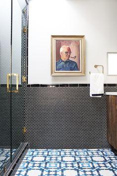 Midcentury Bathroom by Caitlin & Caitlin Design Co.
