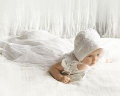 sukienki do chrztu - długa sukieneczka do chrztu w stylu vintage