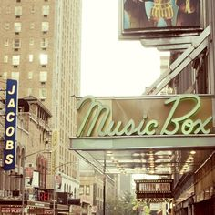 theatre district, NYC