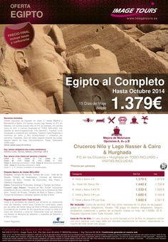 Egipto al Completo hasta Octubre 2014, 15 días de viaje con Cairo en AD, Crucero por el Nilo y Lago ultimo minuto - http://zocotours.com/egipto-al-completo-hasta-octubre-2014-15-dias-de-viaje-con-cairo-en-ad-crucero-por-el-nilo-y-lago-ultimo-minuto/