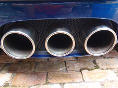 A detailed car with dirty exhaust is not a clean car...Take the time to clean the exhaust tips on your car
