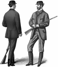 Men's Shooting and Hunting Costumes 1866-1882: Shooting Dress for August 1868