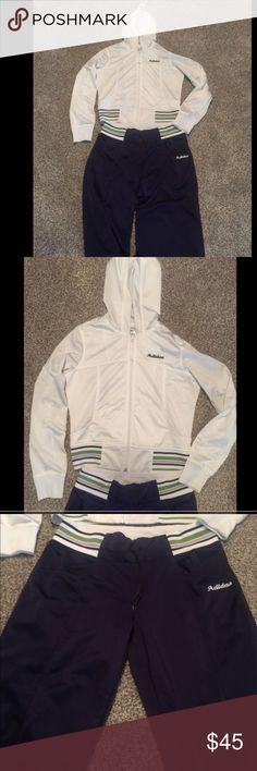 Adidas Adidas woman original track suit in size medium super good condition Adidas Jackets & Coats
