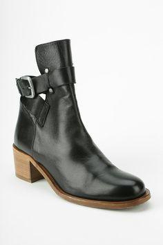 Plomo Bernadette Cutout Ankle Boot