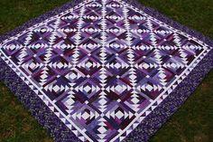 ... Quilt Patterns, Pineapple Quilts, Bonnie Hunter, Blossom Quilt, Purple