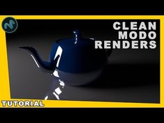 645b1ca4ffd How To Get Clean Noise Free Renders In Modo - 3D Render Tutorial