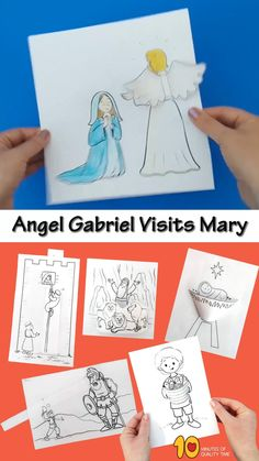 Bible Activities For Kids, Bible Crafts For Kids, Preschool Bible, Bible Lessons For Kids, Preschool Crafts, Children Crafts, Sunday School Crafts For Kids, Bible School Crafts, Sunday School Activities