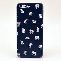 Indian Elephant People Pattern Hard Case for iPhone 5C – USD $ 2.99
