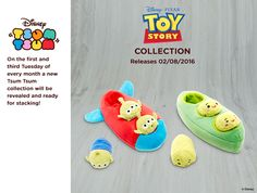Toy story Rocket/Alien and Peas in a pod collection out August 6