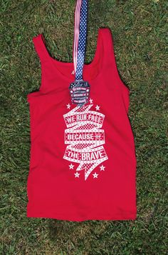 Show off patriotic pride while running our We Run Free Because Of The Brave 4-miler virtual race!