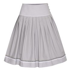 Rock Franzi in Grau von Country Line I 60 cm Cheer Skirts, Rock Mode, Fashion, Dios, Fashion Skirts, Bodice, Dirndl, Dressing Up, Grey