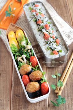 Tasteful Healthy Lunch Ideas with High Nutrition for Beloved Family Bento Recipes, Healthy Recipes, Bento Ideas, Lunch Ideas, Japanese Lunch Box, Japanese Food, Exotic Food, Bento Box Lunch, Food Design