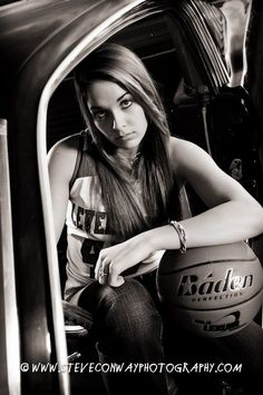 unique Senior Pictures Ideas For Girls who play basketball | Cool Senior Portaits For Girls Basketball  Levelland Loboettes ...