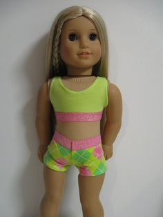 American Girl Doll  GOTCHIES  Argyle by 123MULBERRYSTREET on Etsy, $11.00