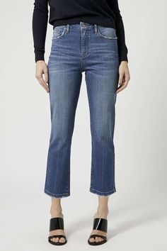 MOTO Dree Cropped Kick Flares - New In- Topshop Europe