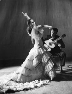 Flamenco Dancer.  Flamenco is one one of the most beautiful and emotional dances I have ever witnessed, the raw passion and emotion conveyed almost overwhelms one.