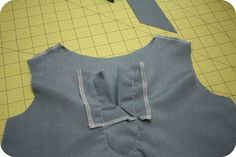 craftiness is not optional: the Elinor top tutorial