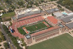 Head down to the University Of Illinois Memorial Stadium for some Big 10 football action in the Fall!