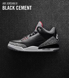 best website 05819 ef052 Jordan Retro 3, Air Jordan 3, Jordan Shoes, Nike Snkrs, Pumped Up Kicks, Nike  Air Jordans, Yeezy, Shoe Game, Cement