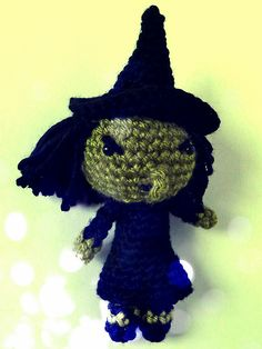 Ravelry: Wizard of Oz Wicked Witch amigurumi doll pattern by Book People Studio