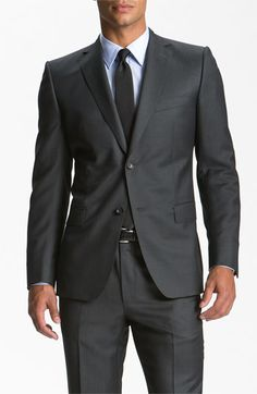 Z Zegna Trim Fit Wool Suit | Nordstrom