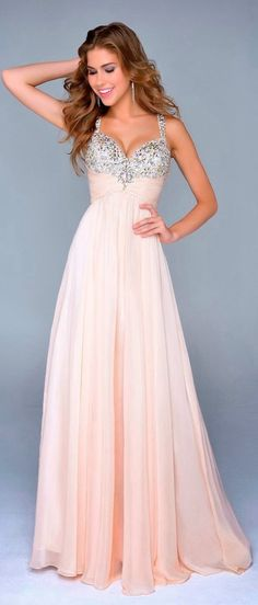 Beautiful Prom Dress, prom dresses blush pink prom gown beaded prom dress straps formal gowns elegant evening dress 2018 prom dress for teens formal gown Meet Dresses Grad Dresses, Dance Dresses, Homecoming Dresses, Bridesmaid Dresses, Formal Dresses, Dress Prom, Prom Gowns, Bridesmaids, Homecoming Posters