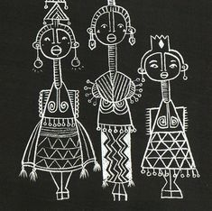 Entering 2015 with compassion. Holiday Entering 2015 with compassion. Arte Tribal, Tribal Art, Art And Illustration, Afrique Art, African Art Paintings, Abstract Paintings, Arte Do Kawaii, Madhubani Art, Art Africain