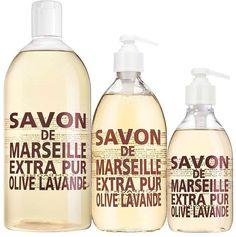 Offrez-vous le trio Extra Pur senteur Olive Lavande. Photo de @aldocoppolabyantonio #compagniedeprovence #extrapur #olive #lavande #savon
