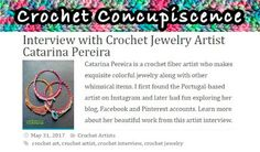 Kawool: [Crochet Concupiscence] - Entrevista -Crochet jewelry and freeform