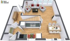 Anything missing?   See other floor plans selling on the market right now: http://www.roomsketcher.com/gallery/floorplans/  3D floor plan designed in RoomSketcher Business Edition by Vornsundvn_31