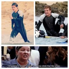 bahahahaha I just like the stills from Catching Fire. :P but the bridesmaids quote is pretty funny too. :)