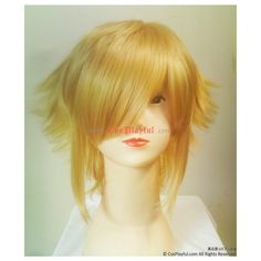 BlazBlue Jin Kisaragi Cosplay Wig ❤ liked on Polyvore featuring beauty products