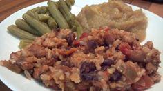 crock pot beans and rice