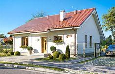 Realizacja projektu domu Maja 3 on Behance Floor Plans, Behance, House Design, Mansions, House Styles, Building, Outdoor Decor, Home Decor, Simple