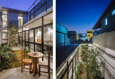 jardin de noche Casa de trabajadora domestica gana premio de arquitectura al edificio del año