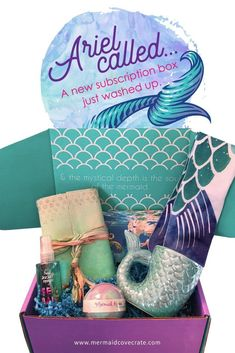 Cove Crate The NEWEST subscription box for mermaid fans! Mermaid Cove Crate from Mermaid Cove Collective!The NEWEST subscription box for mermaid fans! Mermaid Cove Crate from Mermaid Cove Collective!
