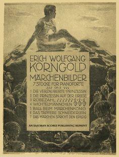 Korngold, Erich : Marchenbilder : sieben Stucke fur Klavier : Opus 3
