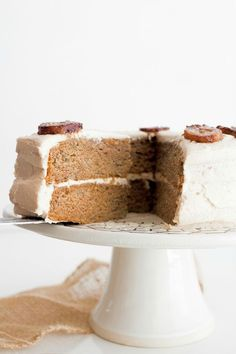 Best of the Best Banana Cake with Brown Butter Frosting.