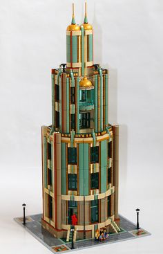 Lego MOC: Tall Tower by RedCoKid, via Flickr