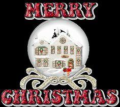 Image Merry Christmas 938 | Christmas | Animated Glitter Gif Images