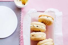 Add some passion to your cookie mix with these delectable Passionfruit Melting Moments