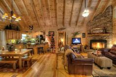 PERFECT Country cabin Christmas!!