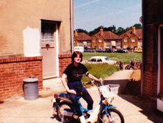 me in 1984 at durham close,maidstone