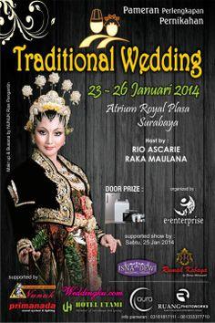 PAMERAN TRADITIONAL WEDDING ROYAL PLAZA SURABAYA