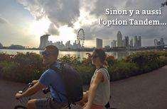 ca roule pour nous! ;) Tandem, New York Skyline, Singapore, Malaysia, Asia, Tandem Bikes