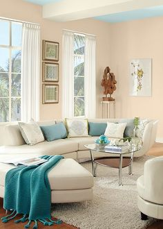 Warm and buttery a subtle coat of yellow paint in any The color blue makes you feel